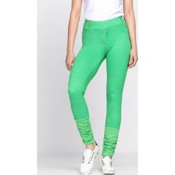 Zielone Legginsy Your Secret. Zielone legginsy we wzory Born2be. Za 19,99 zł.