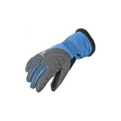 Rękawiczki Salomon  Rękawice  Force Dry W 376015. Szare rękawiczki damskie Salomon. Za 113,40 zł.