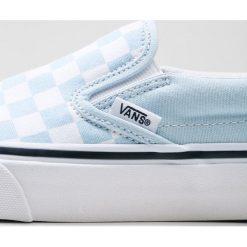 Vans CLASSIC SLIPON Półbuty wsuwane baby blue/true white. Szare półbuty damskie skórzane marki Vans. Za 279,00 zł.