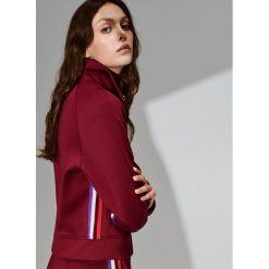 Piankowa bluza - Fioletowy. Fioletowe bluzy damskie marki Reserved, l, z kapturem. Za 99,99 zł.