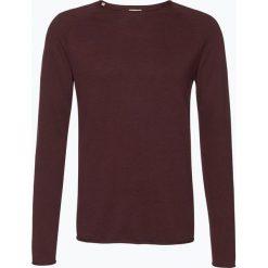 Swetry męskie: Selected – Sweter męski – Clash, czerwony