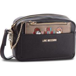 Torebka LOVE MOSCHINO - JC4279PP06KK0000  Nero. Czarne torebki klasyczne damskie Love Moschino, ze skóry ekologicznej. Za 719,00 zł.