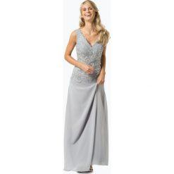 Sukienki balowe: Luxuar Fashion - Damska sukienka wieczorowa, szary
