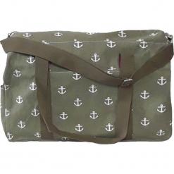 Duża torba TR213 Green. Zielone torby plażowe marki Astratex, z bawełny. Za 90,99 zł.