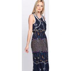 Sukienki: Granatowa Sukienka Kaleidoscopic Lovers