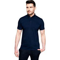 Koszulki polo: koszulka polo serra granatowy 0002