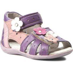 Sandały dziewczęce: Sandały OBEX – 1447/11 Fiolet