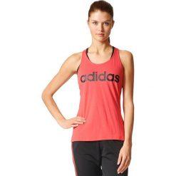 Bluzki damskie: Adidas Koszulka ESS LI SLI Tank czerwony r. XL (S97211)