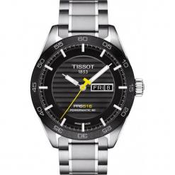 PROMOCJA ZEGAREK TISSOT T-Sport T100.430.11.051.00. Czarne zegarki męskie TISSOT, ze stali. W wyprzedaży za 3344,00 zł.