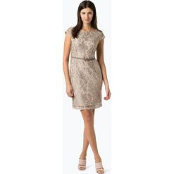 Sukienki hiszpanki: Apriori – Damska sukienka wieczorowa, beżowy