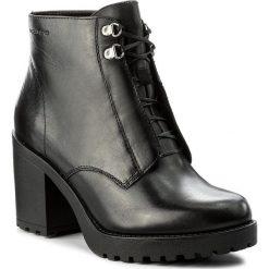 Botki VAGABOND - Grace 4456-001-20 Black. Czarne botki damskie na obcasie marki Vagabond, ze skóry. W wyprzedaży za 309,00 zł.