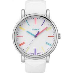 Timex - Zegarek T2N791. Szare zegarki damskie Timex, szklane. Za 299,90 zł.