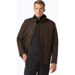 Barbour - Męska kurtka pikowana, zielony. Zielone kurtki męskie bomber Barbour, l, ze skóry, eleganckie. Za 899,95 zł.