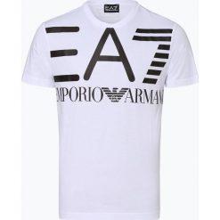 EA7 Emporio Armani - T-shirt męski, czarny. Czarne t-shirty męskie z nadrukiem marki EA7 Emporio Armani, l. Za 329,95 zł.