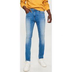 Rurki męskie: Jeansy rurki skinny fit - Niebieski
