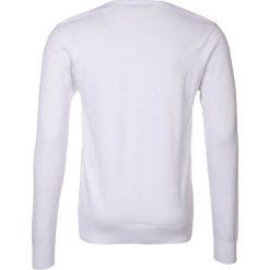 Swetry męskie: Teddy Smith PULSER Sweter blanc
