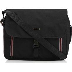 Torba na laptopa 86-3P-200-1. Czarne torby na laptopa marki Wittchen, w paski, z materiału. Za 155,00 zł.