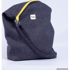 Torebka worek Grey yellow. Szare torebki worki Pakamera, z tkaniny. Za 105,00 zł.