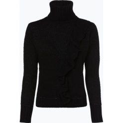 ONLY - Sweter damski – Natali, czarny. Szare golfy damskie marki ONLY, s, z bawełny, casualowe, z okrągłym kołnierzem. Za 159,95 zł.