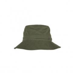 Kapelusz Bob myśliwski Steppe 100. Brązowe kapelusze damskie SOLOGNAC, z bawełny. Za 29,99 zł.