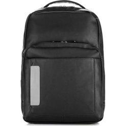 Plecak w kolorze czarnym - (W)43 x (G)13 cm. Czarne plecaki męskie Wittchen, w paski, z materiału. W wyprzedaży za 189,95 zł.