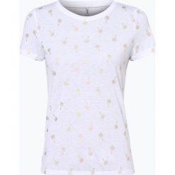T-shirty damskie: ONLY – T-shirt damski, beżowy