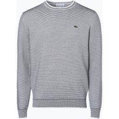 Swetry męskie: Lacoste – Sweter męski, beżowy