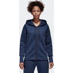 BLUZA ADIDAS W ID STADIUM HD. Białe bluzy sportowe damskie marki Adidas, z bawełny, z długim rękawem, długie. Za 199,99 zł.