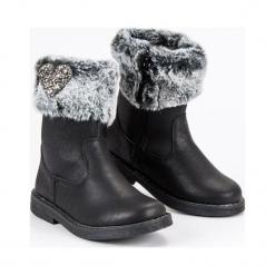 Buty dziecięce ciepłe kozaki czarne r. 31. Czarne buciki niemowlęce American CLUB, na zimę. Za 121,89 zł.
