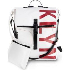 Torebka z nadrukiem bonprix czarno-czerwono-biały. Białe torebki klasyczne damskie bonprix, z nadrukiem, z nadrukiem. Za 109,99 zł.