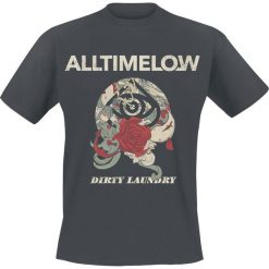 All Time Low Dirty Laundry Cover T-Shirt szary. Szare t-shirty męskie All Time Low, l. Za 62,90 zł.