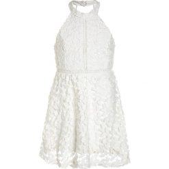 Sukienki dziewczęce: Bardot Junior LEAF DRESS Sukienka koktajlowa white