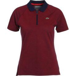 Lacoste Sport Tshirt z nadrukiem aquatique/toreador. Fioletowe t-shirty damskie Lacoste Sport, z nadrukiem, z bawełny. Za 359,00 zł.