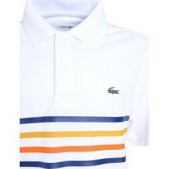 Lacoste Sport TENNIS Koszulka sportowa white/marine. Białe t-shirty chłopięce Lacoste Sport, z materiału. Za 259,00 zł.