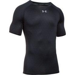 Under Armour Koszulka męska HeatGear Armour Printed SS czarna r. XL (1257477-010). Białe koszulki sportowe męskie marki Adidas, l, z jersey, do piłki nożnej. Za 153,22 zł.