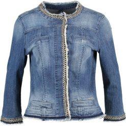 Liu Jo Jeans KATE Kurtka jeansowa denim blue stretch. Niebieskie bomberki damskie Liu Jo Jeans, z bawełny. Za 1039,00 zł.