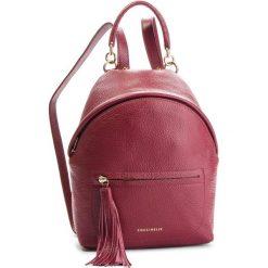 Plecak COCCINELLE - CN0 Leonie E1 CN0 54 03 01 Grape R04. Czerwone plecaki damskie Coccinelle, ze skóry. Za 1249,90 zł.