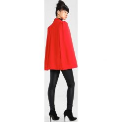 Poncza: Lavish Alice FITTED LAPEL  Ponczo red