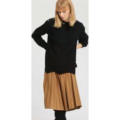 Czarny Sweter Sundown. Czarne bluzki damskie other, uniwersalny, casualowe. Za 39,99 zł.