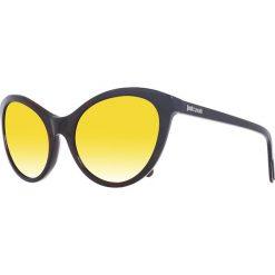 Okulary przeciwsłoneczne damskie: Okulary przeciwsłoneczne w kolorze brązowo-żółtym
