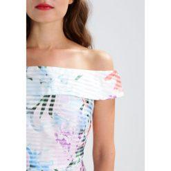 Sukienki hiszpanki: Dorothy Perkins Petite STRIPE Sukienka koktajlowa ivory