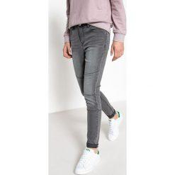 Dżinsy skinny, 10-16 lat. Szare spodnie chłopięce La Redoute Collections, z bawełny, z standardowym stanem. Za 111,68 zł.