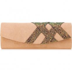 Torebka damska 85-4Y-802-9. Brązowe torebki klasyczne damskie marki Wittchen, w kolorowe wzory. Za 129,00 zł.