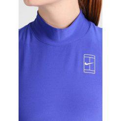 Nike Performance Koszulka sportowa paramount blue/white. Niebieskie topy sportowe damskie marki Nike Performance, xl, z elastanu. W wyprzedaży za 132,30 zł.