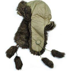 Czapka damska Uszanka Elegant fur beżowo-szara. Brązowe czapki zimowe damskie Art of Polo. Za 47,34 zł.