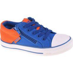 Buciki niemowlęce chłopięce: BEJO Buty Juniorskie Duoco JR Royal/Orange r. 33