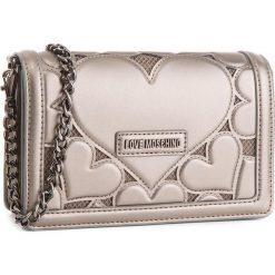 Torebka LOVE MOSCHINO - JC4048PP16LH0910 Peltro. Brązowe torebki klasyczne damskie Love Moschino, z materiału. Za 879,00 zł.