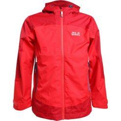 Jack Wolfskin AKKA  Kurtka hardshell peak red. Niebieskie kurtki chłopięce sportowe marki bonprix, z kapturem. W wyprzedaży za 367,20 zł.