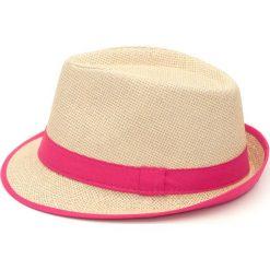 Kapelusz damski Double trouble różowy. Czerwone kapelusze damskie Art of Polo. Za 28,94 zł.