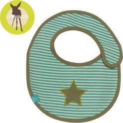 Śliniaki: Lassig Śliniak bawełniany wodoodporny Starlight olive – LTEXBS069